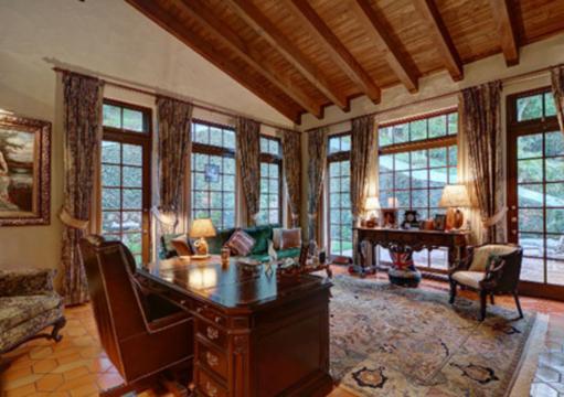 Bureau de la maison que Johnny Depp aurait offert à Vanessa ... - closermag.fr