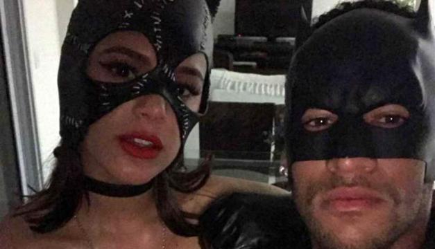 Neymar disfrazado de Batman y su novia Bruna Marquezine de ... - peru.com