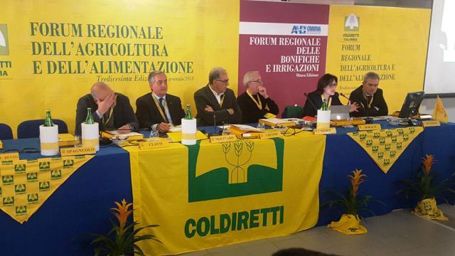 Forum regionale Coldiretti e Anbi Calabria il 19 dicembre a ... - lametino.it