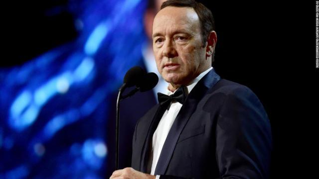 Kevin Spacey, demitido de produção da Netflix após escândalos. Foto - cnn.com