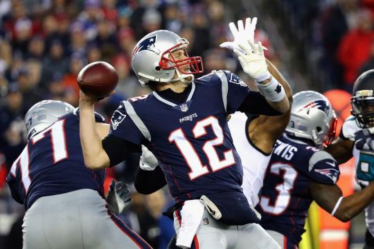 Tom Brady fue estelar en el cuarto clutch: el 4to cuarto. Pats Pulpit.com.