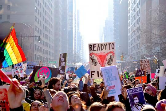 Women marched around America for the second year in a row for the #metoo movement [image via pixabay.com]