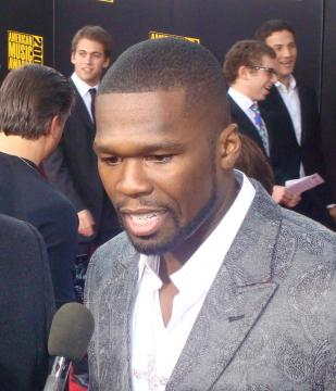 50 cent interviewing on the Red Carpet -- Image via Wikimedia Commons