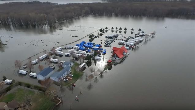 En video: La magnitud de las inundaciones en Quebec vistas con un ... - nmnoticias.ca