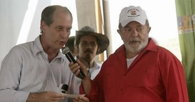 Ciro Gomes já foi ex-ministro de Lula e diz que tem interesse em apoio do PT