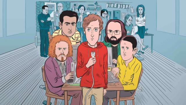 Los Personajes Principales de Silicon Valley