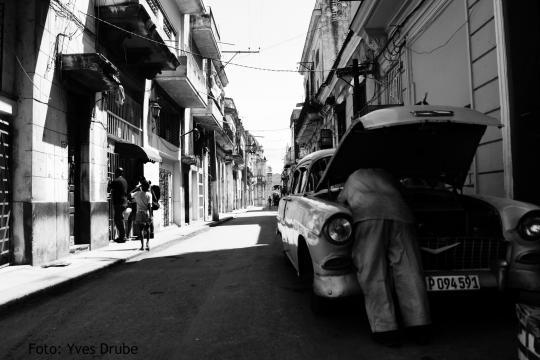 Straße von Havanna, Kuba (Foto:Yves Drube)