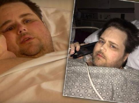 James King getting dangerously ill after failed diet. - [TLC / YouTube screencap]