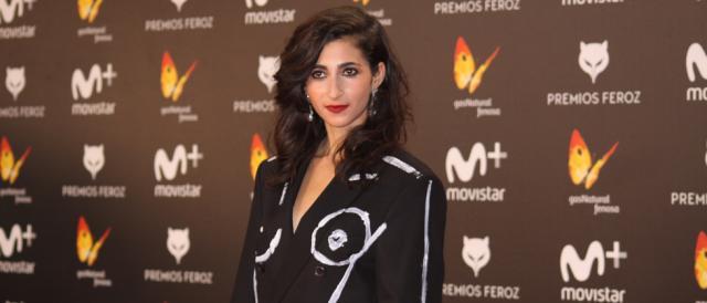 Alba Flores en la alfombra roja de los Premios Feroz