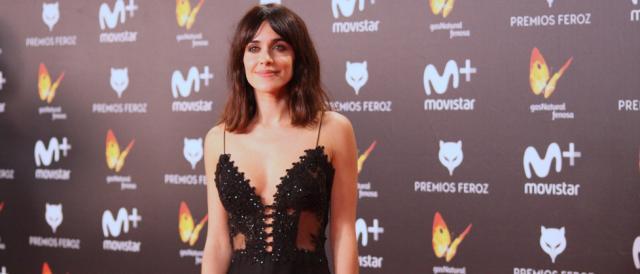 Macarena García en la alfombra roja de los Premios Feroz