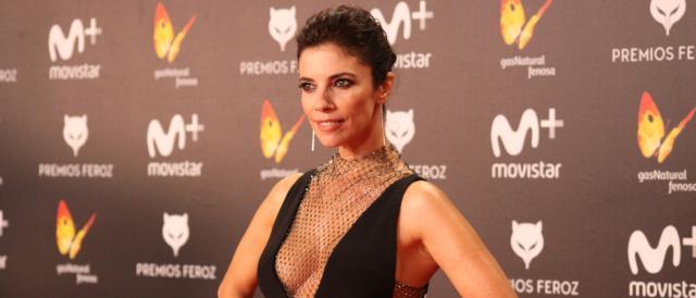 Maribel Verdú en la alfombra roja de los Premios Feroz