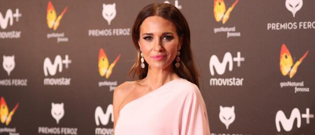 Paula Echevarría en la alfombra roja de los Premios Feroz
