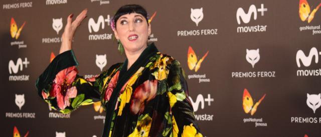Rossy de Palma en la alfombra roja de los Premios Feroz