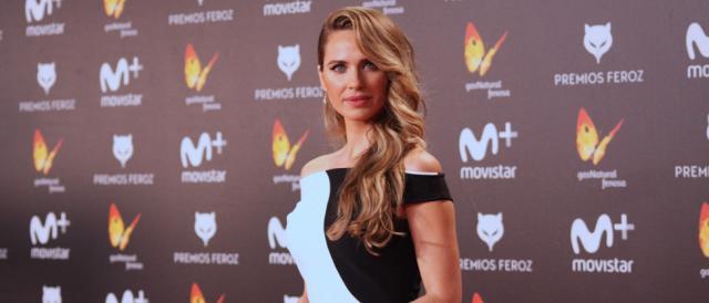 Vanesa Romero, una de las más guapas de la alfombra roja de los Feroz