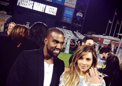 Demande en mariage de Kanye West à Kim Kardashian