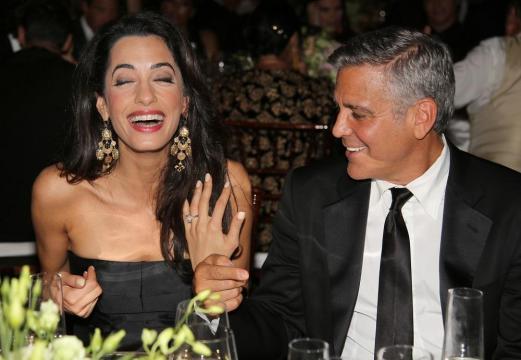 La bague de fiançailles Amal Clooney