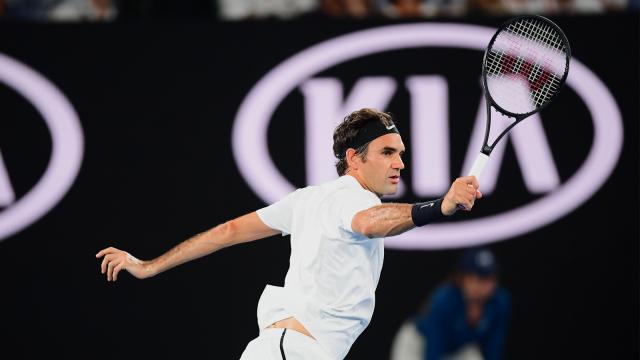 Roger junto a Djokovic, son los máximos ganadoras en la cancha dura de Melbourne. AusOpen.com.