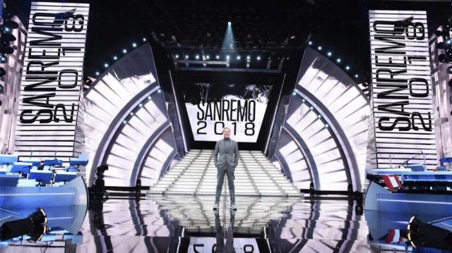 Sanremo 2018   La scenografia della 68° kermesse musicale - unduetre.com