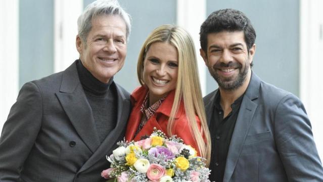 Sanremo - Baglioni, Michelle Hunziker e Pierfrancesco Favino ... - radionorba.it