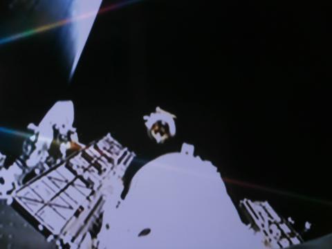 El PAZ se separa de su cohete nodriza y empieza su carrera espacial