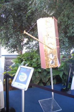 Maqueta del PAZ en las instalaciones del INTA en Torrejón