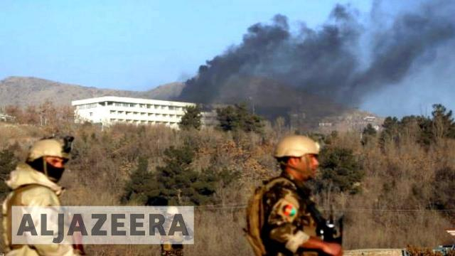 Taliban attack Hotel in Kabul. (Image Credit: Al Jazeera/Youtube screencap)