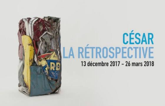 César est ces œuvres au Centre Pompidou.Paris