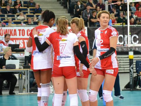 Izabela Kowalińska ma na swoim koncie sukcesy zarówno reprezentacyjne, jak i klubowe (fot. sekcja ŁKS Commercecon Łódź)
