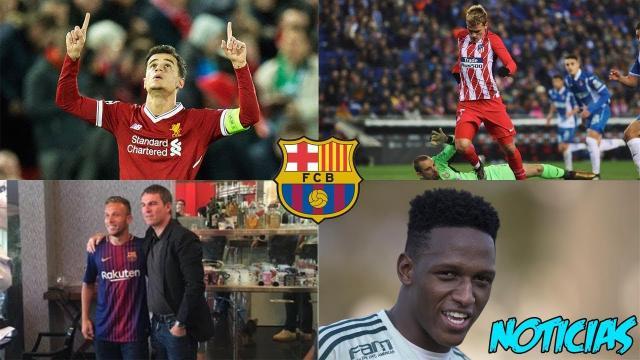 Los fichajes del Barcelona para 2018