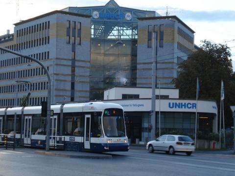 UNHCR Building, Geneva (Image credit – HunNomad, Wikimedia Commons)