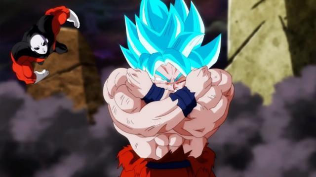 Goku se ve dañado para el capitulo 123