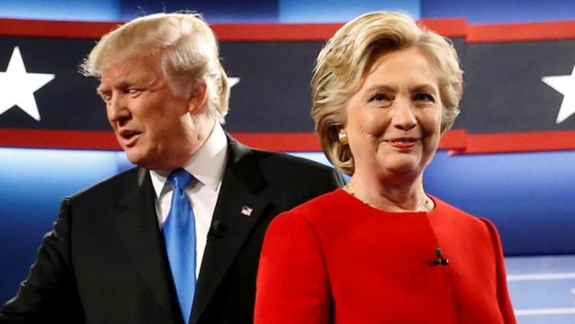 US election 2016: Clinton, Trump clash in first debate | News | Al ... - aljazeera.com