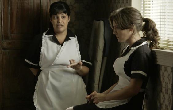 Clara contratará Janete na trama das nove. (Foto Reprodução).