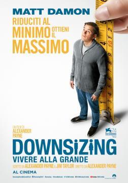 Downsizing locandina del film.