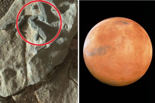 Roverul Curiosity al NASA a surprins forme misterioase pe planeta Marte