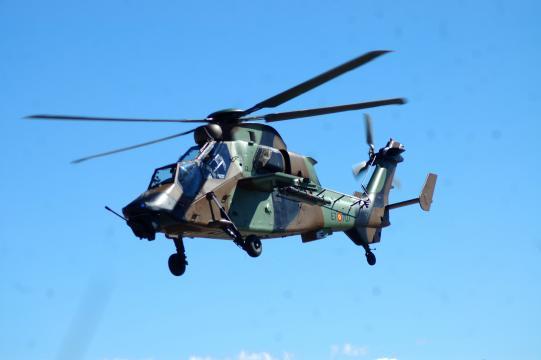 Los helicópteros de ataque como el Tigre darán potencia de fuego aérea a las brigadas