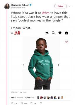 H&M racist advert - Image credir - ThisisInsider | Twitter