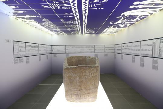 Scanning Seti - La riproduzione del sarcofago di Seti I - photo ©Piergiorgio Pescali