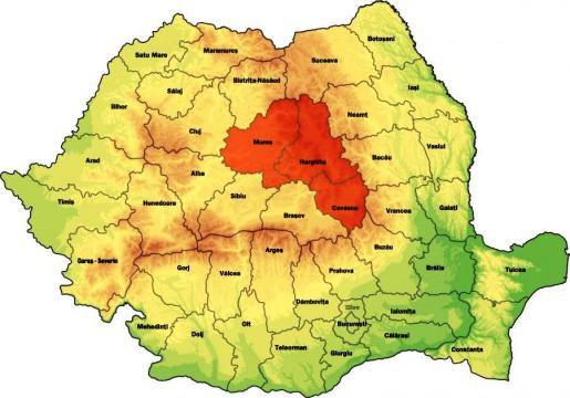 Ţinutul secuiesc îl vor autonom, maghiarii minoritari