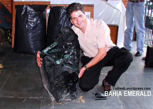 Anthony Thomas - primeiro comprador americano da Esmeralda Bahia