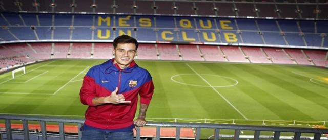 Coutinho é o novo reforço do Barcelona