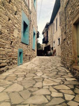 Lefkara - Chipre. Pueblo tradicional chipriota muy famoso por sus manteles tejidos a mano