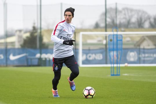 Premier entraînement pour Lo Celso (photo) - Paris PSG - paristeam.fr