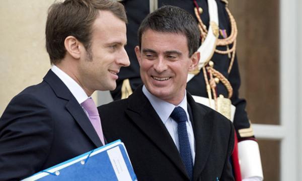 Valls dément toute mésentente avec Macron - bfmtv.com