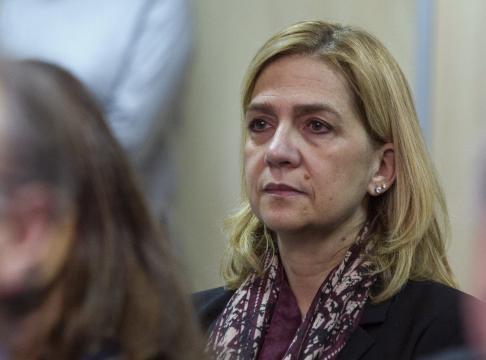 La infanta Cristina, desolada mientras Badajoz lanza una campaña ... - elnacional.cat