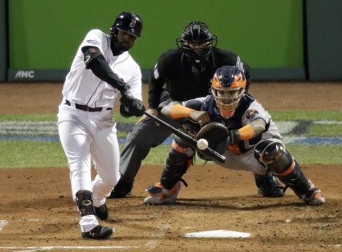 Bradley Jr. fue el héroe para Boston en el juego 2 de la ALCS. www. masslive.com