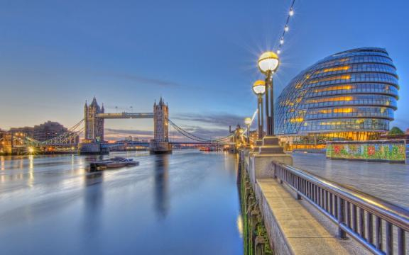 Tower Bridge, River Thames, Londres, Inglaterra - Lugares Hermosos - blogspot.com