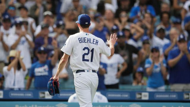 Buehler tuvo una apertura estelar. - mlb.com.