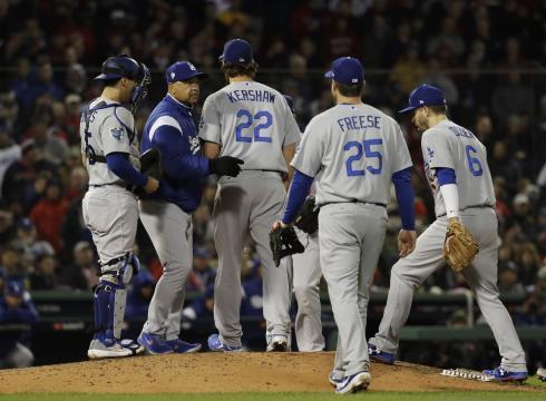 Kershaw ha tenido 3 aperturas en su carrera en Serie Mundial y 2 han sido malas. MLB.com.