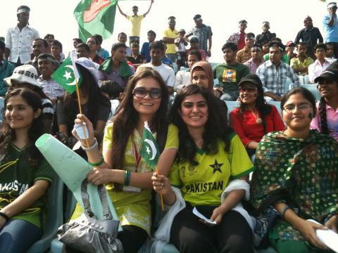 GAME ON HAI: Int'l Cricket returns to Pakistan (Image vi PCB/Twitter)